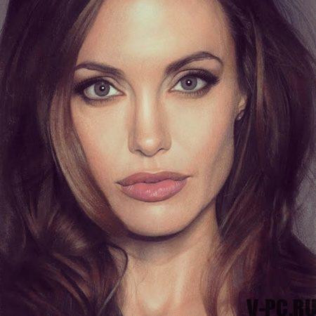 Джоли в инстаграме