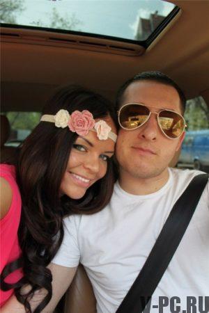 Илона Лунден с мужем в Инстаграм