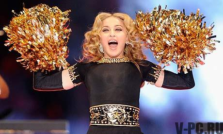 Madonna at 2012 Super Bowl