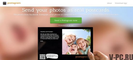 печатать фотографии из инстаграма