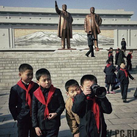 Северная Корея фотографии