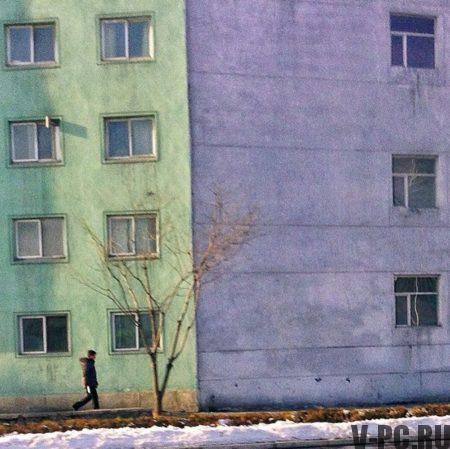 Дома в Северной Корее
