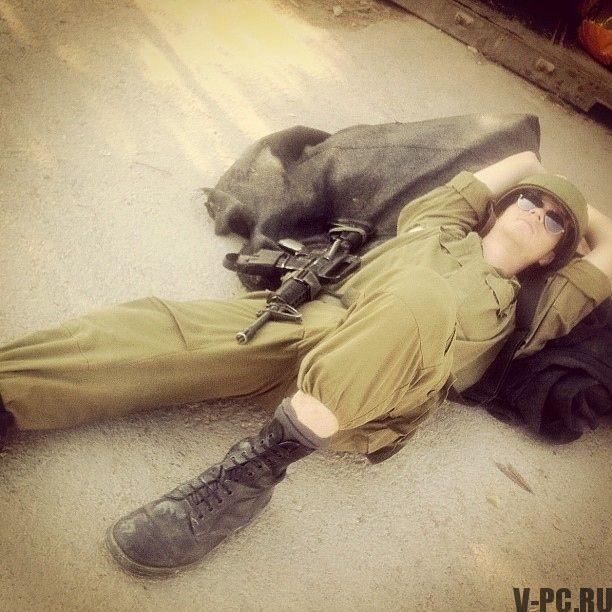 Израильские солдаты в Инстаграм