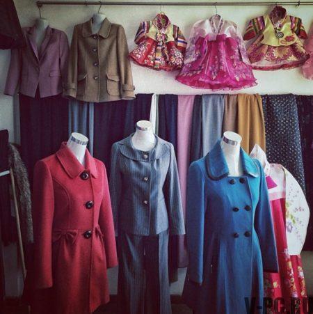 Одежда в Северной Кореи