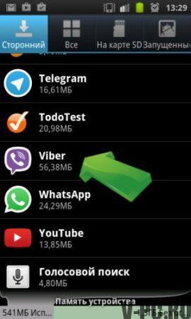 приложение вайбер на телефоне