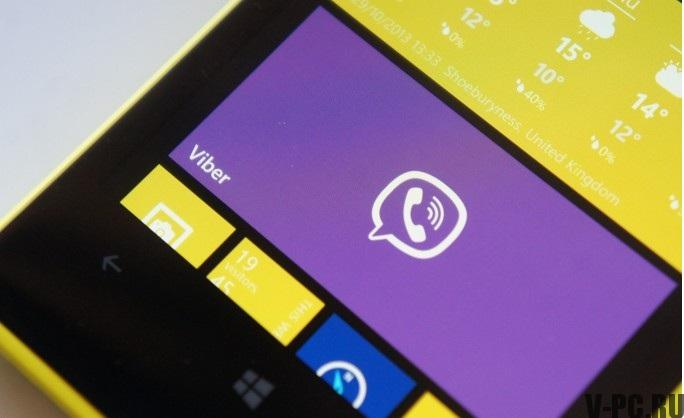 вайбер для windows phone