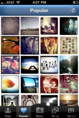 популярные фото в инстаграме