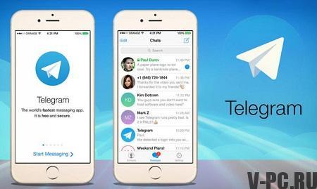 добавить контакты в телеграмм